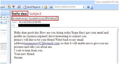Bad Email Outreach